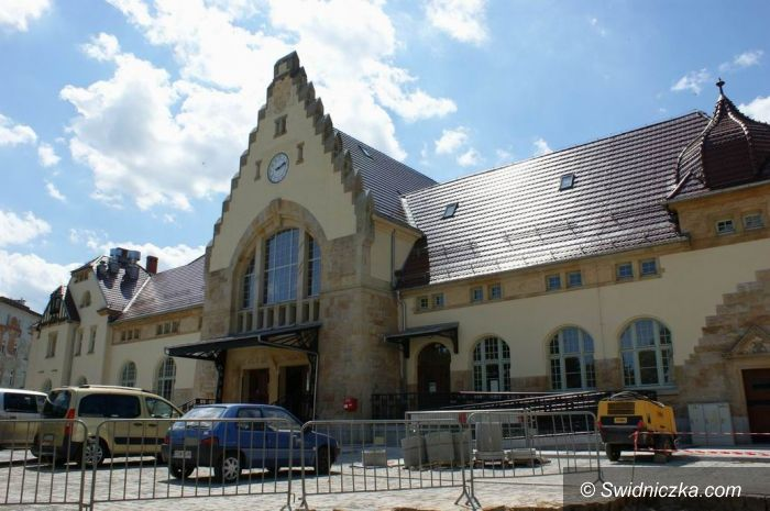 Świdnica: Wakacyjne prace przy budowie Centrum Przesiadkowego