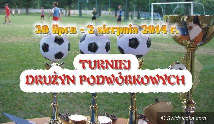 Świdnica: Zbliża się piłkarski turniej drużyn podwórkowych