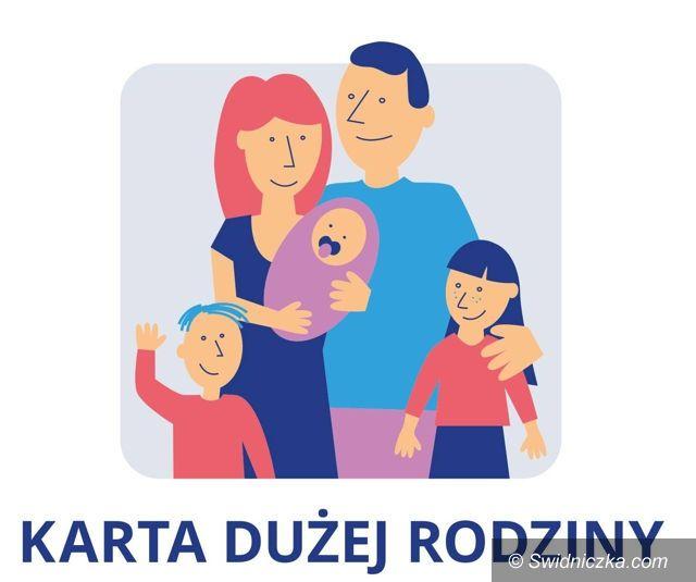 Świebodzice/Kraj: Ogólnopolska Karta Dużej Rodziny – można składać wnioski