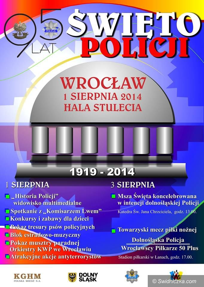 Dolny Śląsk: Obchody Święta Dolnośląskiej Policji