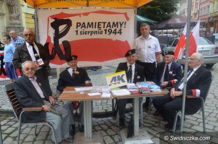 Świdnica: 70. rocznica wybuchu Powstania Warszawskiego