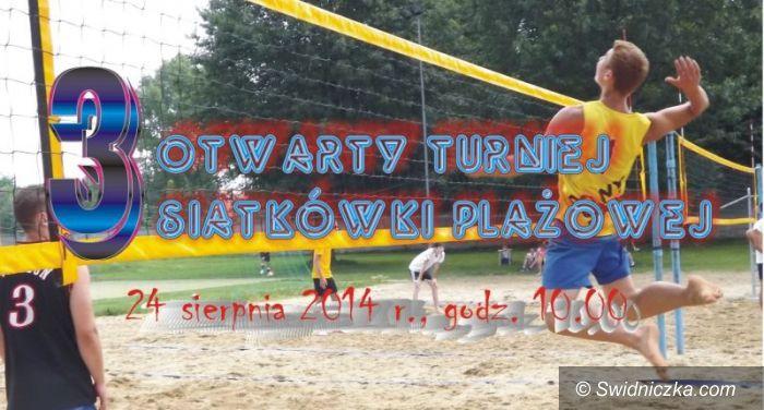 Świdnica: Trzeci turniej plażówki