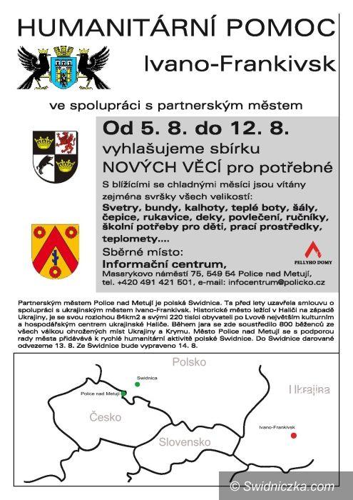 Ukraina: Do pomocy Ukrainie przyłączają się Czesi