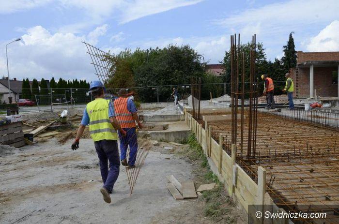 Żarów: Basen w budowie