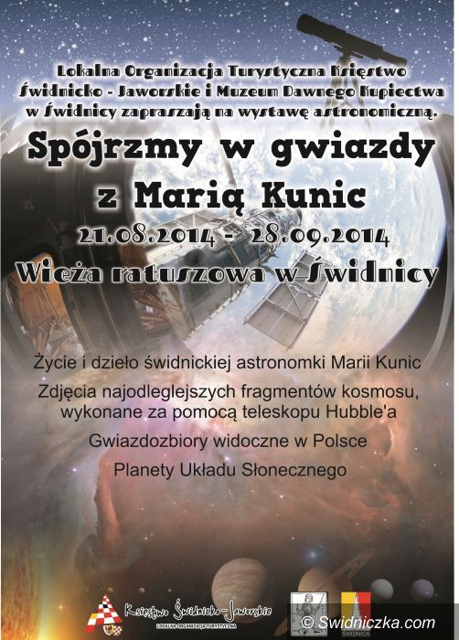 """Świdnica: Wystawa """" Spójrzmy w gwiazdy z Marią Kunic"""""""