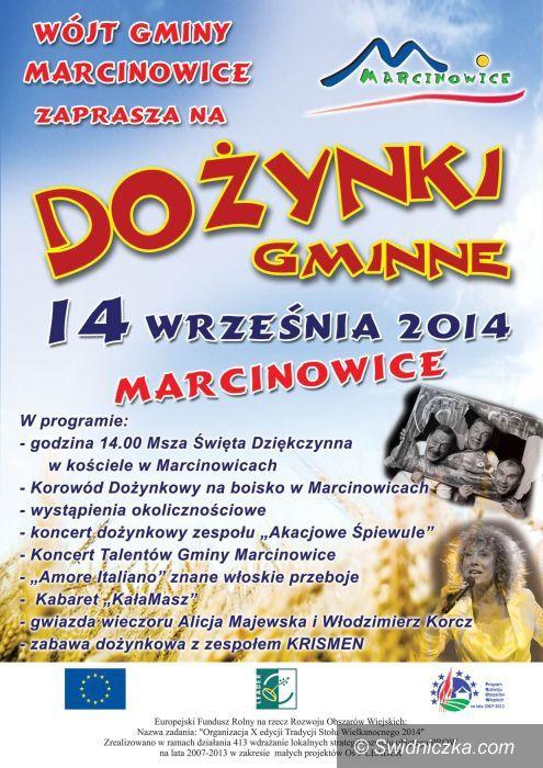 Marcinowice: Dożynki w Marcinowicach