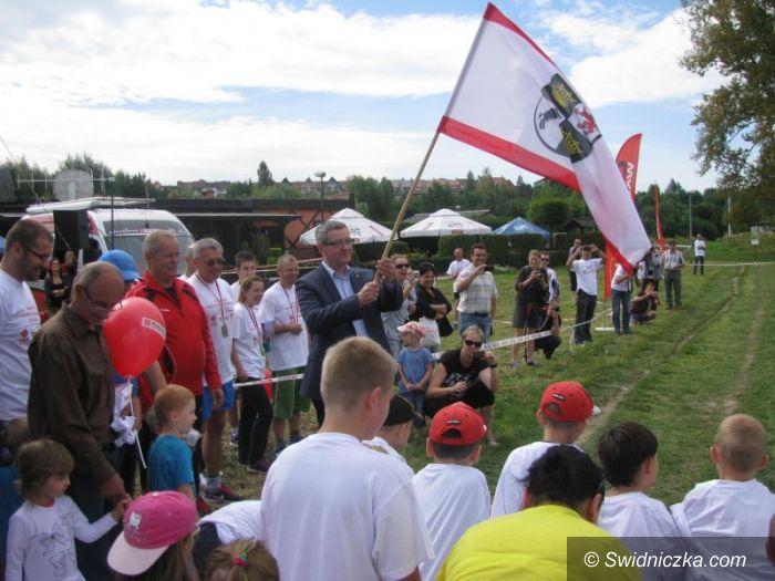 Świdnica: Bieg Inaugurujący Ścieżkę Biegową nad Zalewem Witoszówka