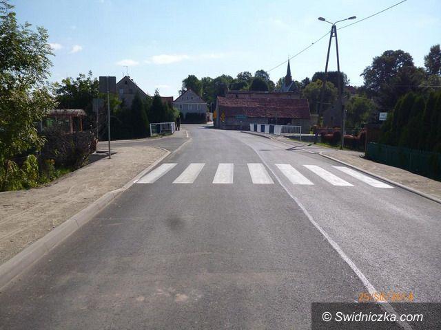 Zebrzydów: Oddano przebudowany odcinek drogi powiatowej nr 2879 D o długości 1170 m