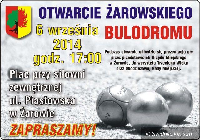 Żarów: Żarowski bulodrom gotowy
