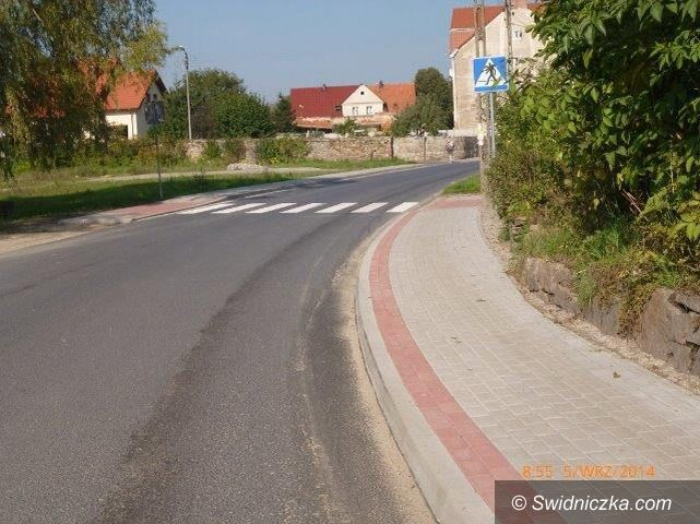 Kostrza: Budowa chodnika w Kostrzy wraz z przejściem dla pieszych