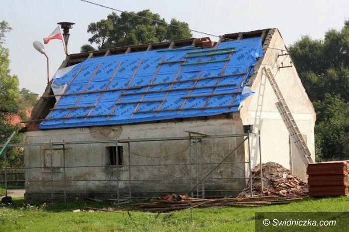 Jugowa: Remiza strażacka z nowym dachem