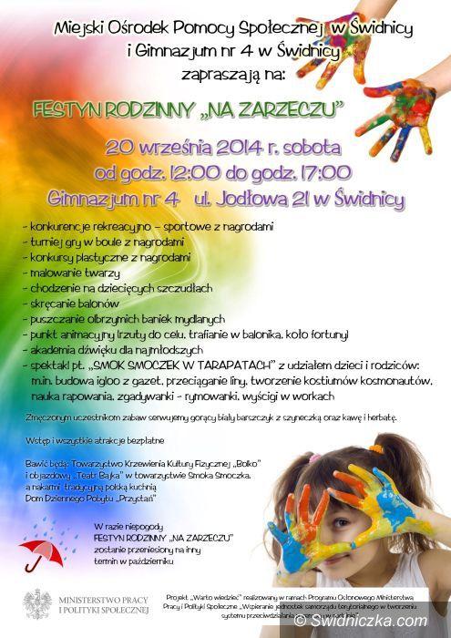 """Świdnica: Pomysł na sobotę – Festyn """"Na Zarzeczu"""""""