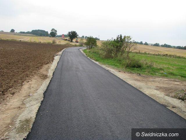 Gmina Marcinowice: Kolejne drogi w gminie Marcinowice