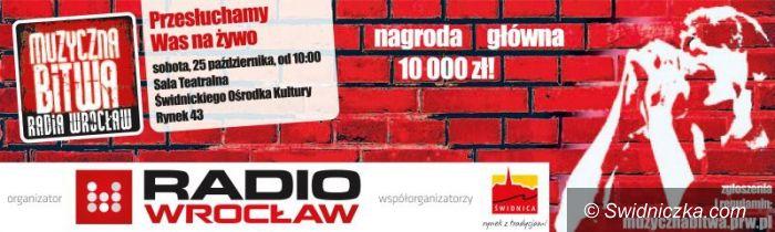 Świdnica: Muzyczna Bitwa Radia Wrocław w Świdnicy!