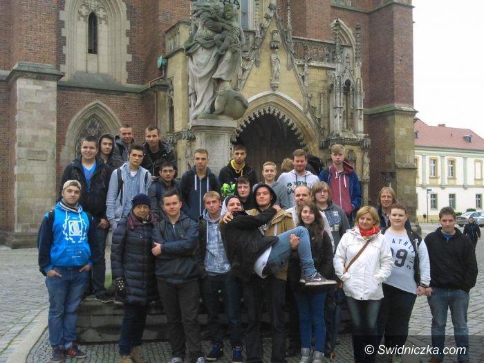 Świdnica: Uczniowie Mechanika gościli uczniów z Niemiec