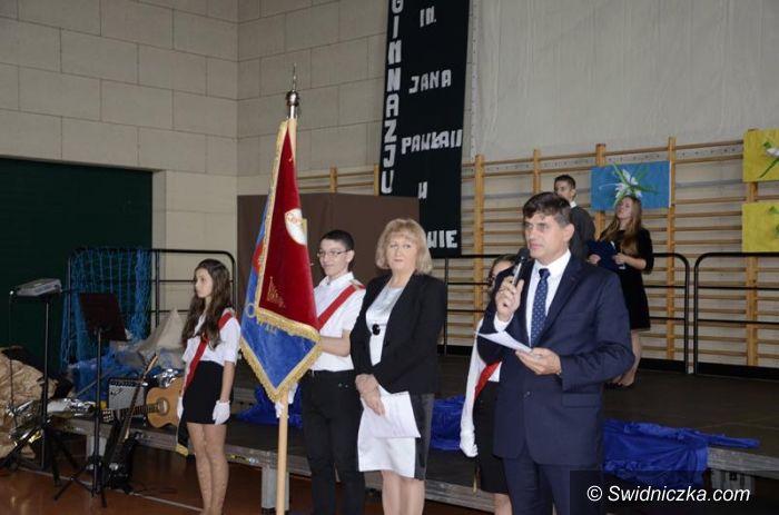 Żarów: Gimnazjum w Żarowie ma 15 lat