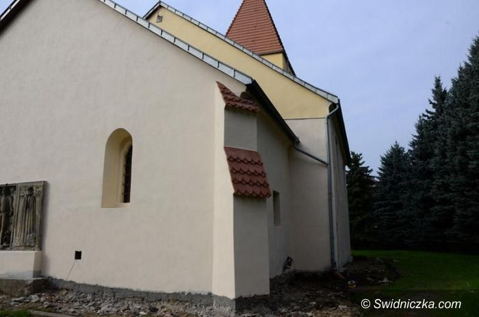 Łażany: Zabytkowy kościół w remoncie