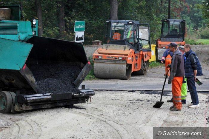Szymanów: Kolejna wyremontowana droga w gminie Dobromierz
