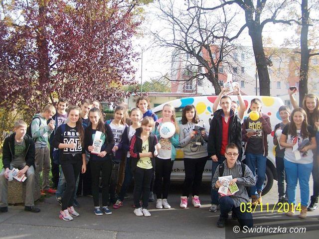 Świdnica: Projekt Deutsch Wagen Tour w Gimnazjum nr 2 w Świdnicy