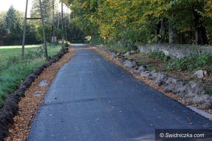 Bronów: Zakończono modernizację drogi w Bronowie