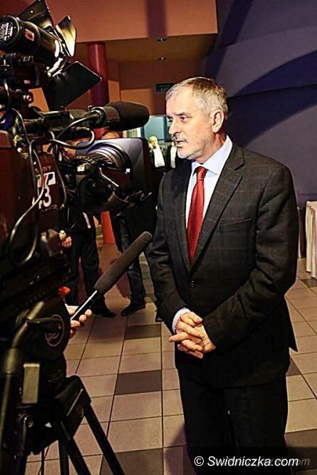 Wałbrzych: Prezydent Szełemej mówił w telewizji publicznej o swoim bezapelacyjnym zwycięstwie