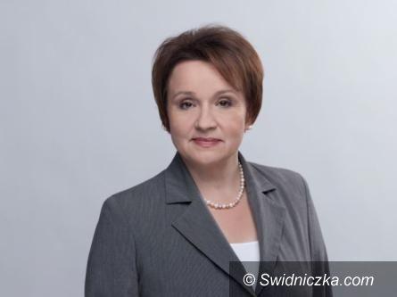 Świdnica: Posłanka PiS prosi o oddanie głosu na Wojciecha Murdzka