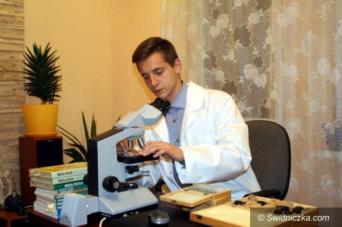 Świebodzice: Sukces młodego biologa