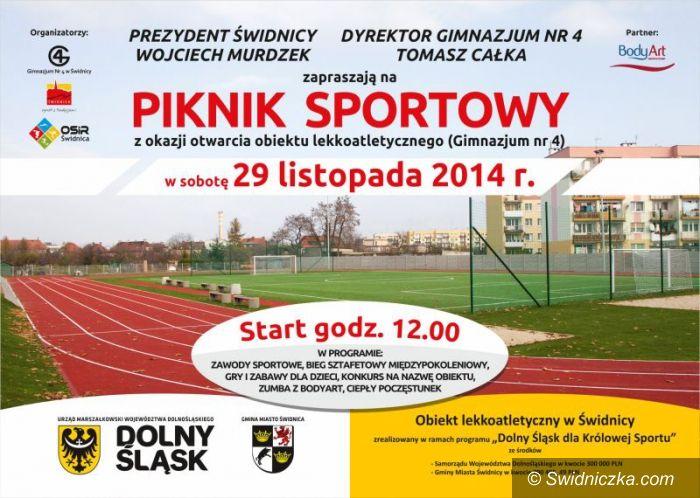 Świdnica: Piknik sportowy na otwarcie