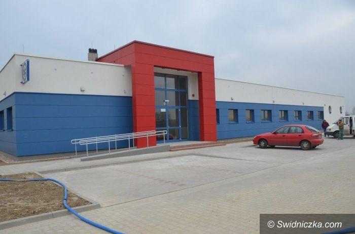 Świdnica: Zakończenie prac przy budowie nowej siedziby pogotowia