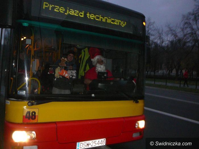Świdnica: Akcja mikołajkowa w MPK Świdnica