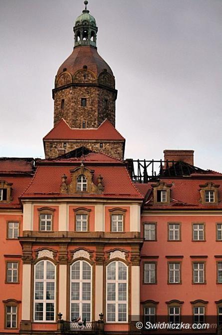 Wałbrzych: W zamku Książ szacują straty po pożarze