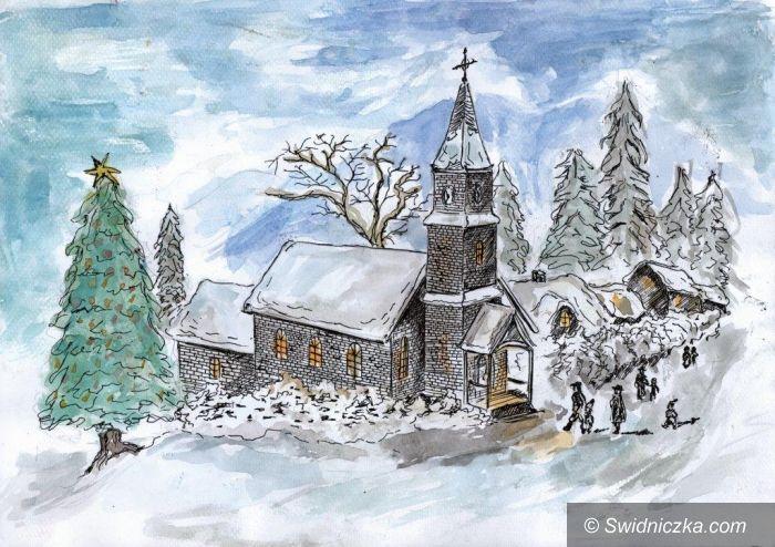Świdnica: Świąteczne kartki zaprojektowane przez młodych świdniczan