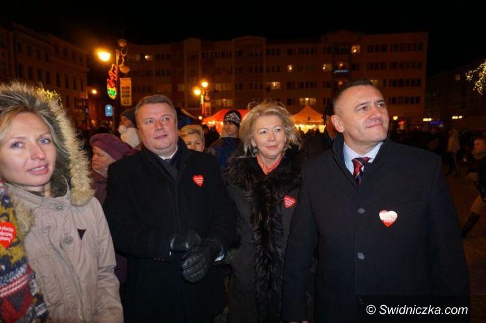 Świdnica: Posłanka Świło razem z WOŚP