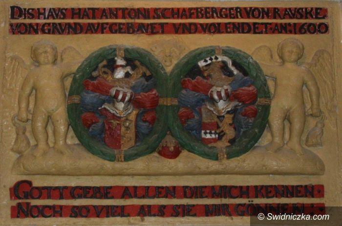 Strzegom: Gdzie jest herb kasztelana strzegomskiego Konrada von Czirn?