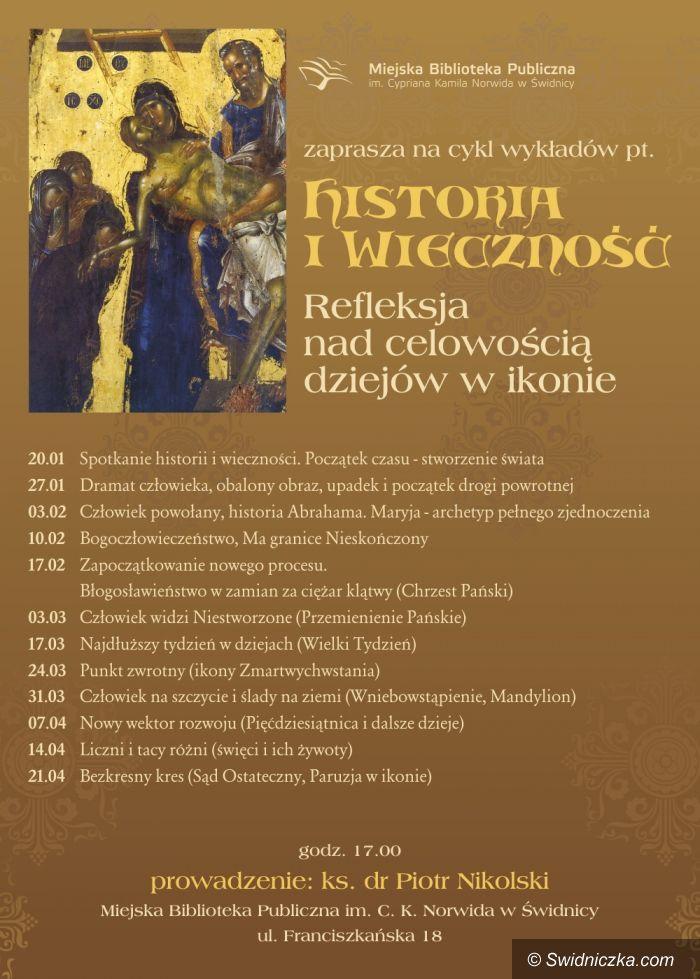 """Świdnica: """"Historia i wieczność. Refleksja nad celowością dziejów w ikonie"""""""