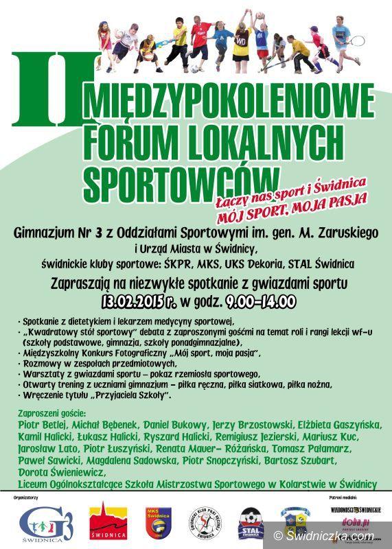 Świdnica: Gwiazdy sportu po raz  drugi w Gimnazjum nr 3 w Świdnicy