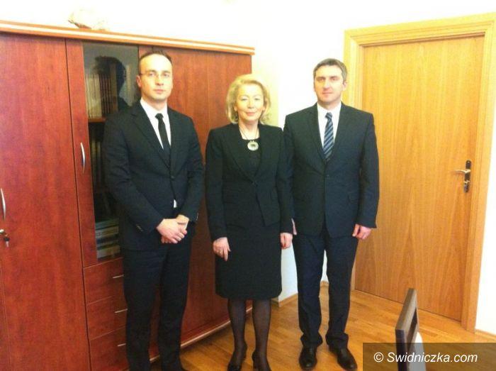 Świdnica: W Ministerstwie Infrastruktury i Rozwoju o obwodnicy Świdnicy