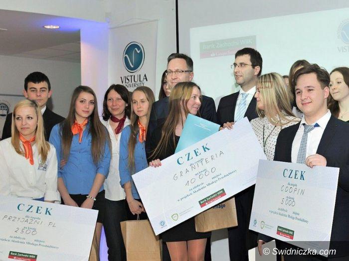 Strzegom: Młodzi strzegomianie bezkonkurencyjni – 10 tys. zł na własną działalność dla uczniów