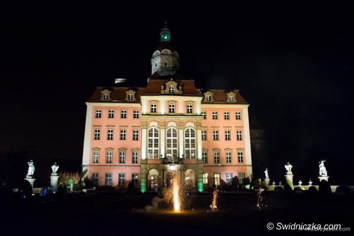 Region: Prezentacja iluminacji Zamku Książ