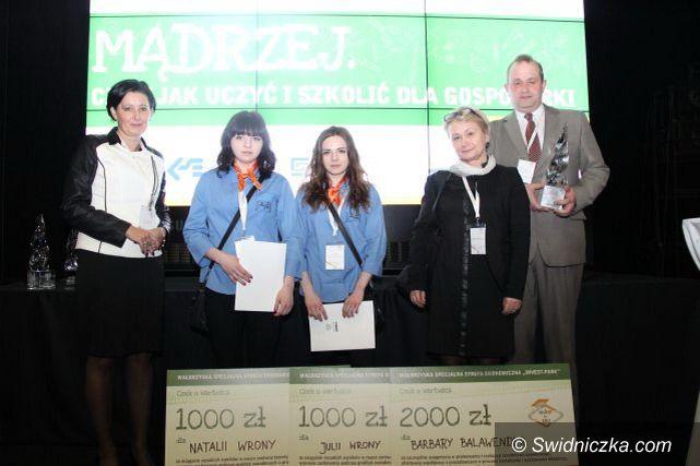 Strzegom: Zespół Szkół w Strzegomiu nagrodzony przez Ministra Gospodarki