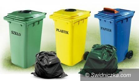 Świdnica: Zmiany w gospodarce odpadami