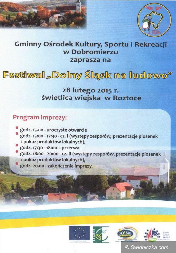 Dobromierz: Zapraszamy na festiwal do Dobromierza
