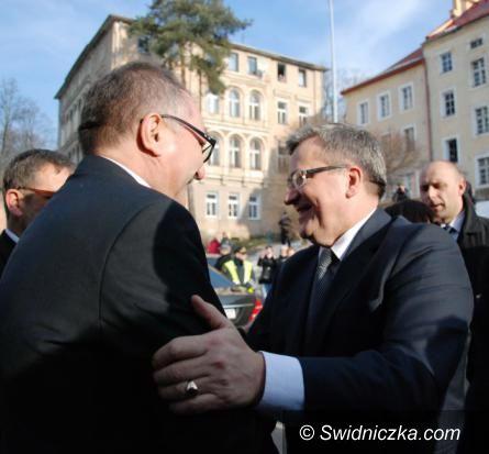 Dolny Śląsk: Prezydent RP z wizytą na Dolnym Śląsku