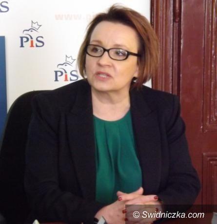 Wałbrzych: Posłanka Zalewska zachwala kandydaturę Andrzeja Dudy