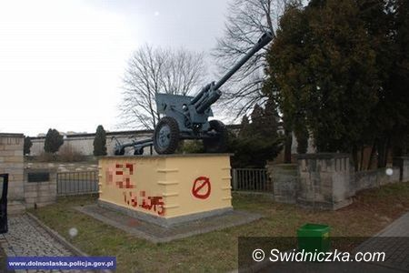 Świdnica: Odpowie za dwukrotne zniszczenie pomnika
