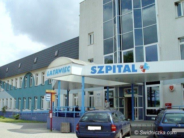 """Świdnica: Szpital """"Latawiec"""" informuje"""