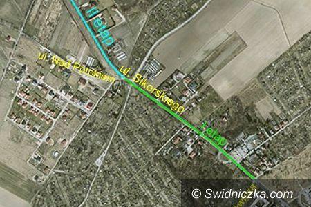 Świdnica: Ulica Sikorskiego w Świdnicy zyska nowe oblicze