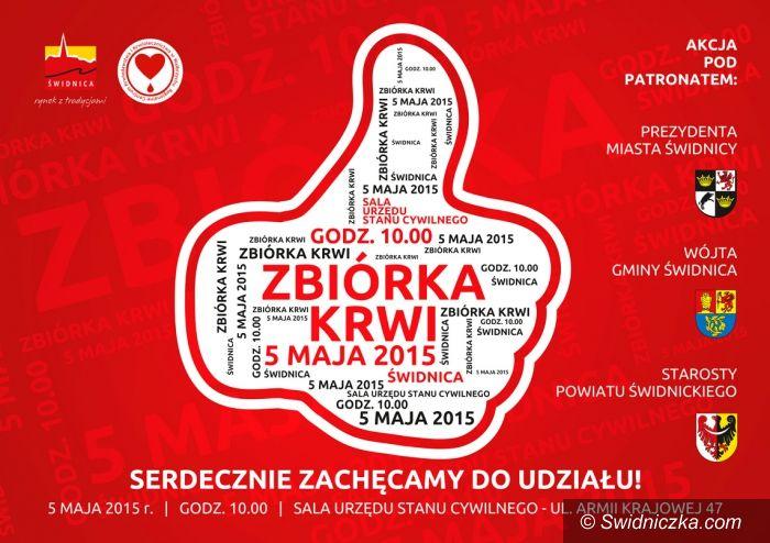 Świdnica: Zbiórka krwi pod patronatem prezydenta Świdnicy
