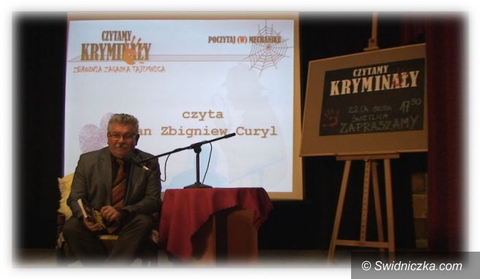 Świdnica: Czytamy kryminały w ZSM w Świdnicy