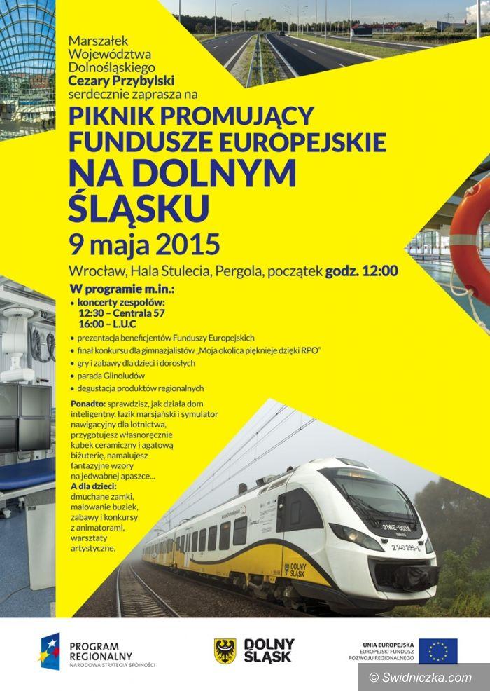 Wrocław: Piknik promujący fundusze europejskie